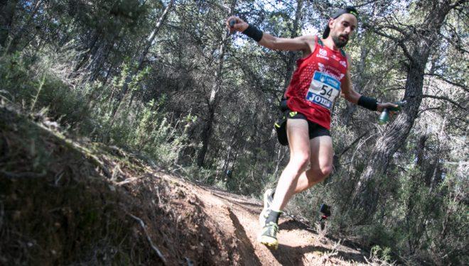 Borja Fernández en la Falco Trail 2018