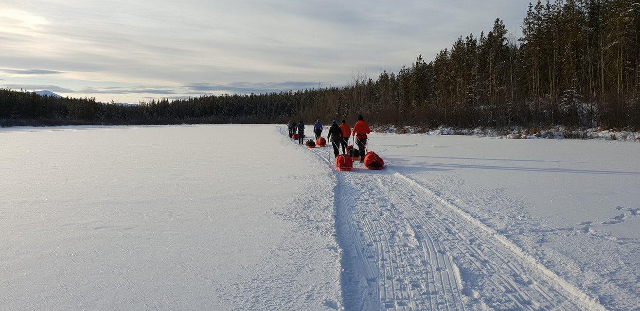Curso de supervivencia precarrera de la Yukon Arctic Ultra 2019