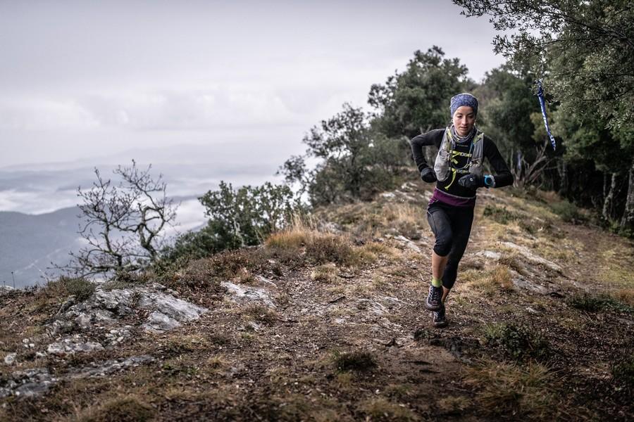 Paula Cabrerizo en el Trail Rocacorba 2019