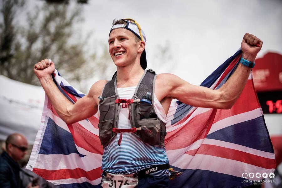 Tom Evans en el Mundial de Trail de Penyagolosa 2018