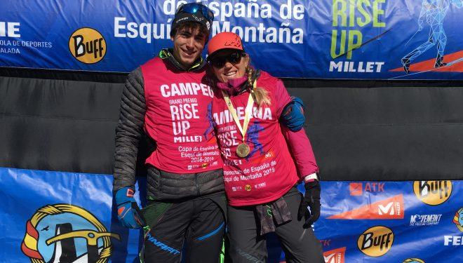 Oriol Cardona y Clàudia Galicia, campeones de España 2019