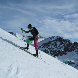 Oriol Cardona en el Campeonato de Esquí de Montaña Individual 2019, que ganó