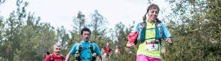 Un grupo de corredores en el Gran Trail Sobrarbe 2016