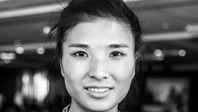 Miao Yao en la víspera de Transgrancanaria 2019