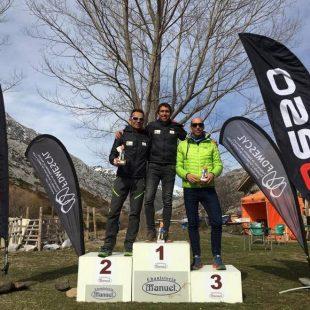 IV Trofeo Ski Montaña Palentina, premiación masculina.