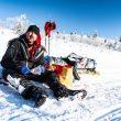 Joaquin Candel en el Yukon Arctic Ultra 2019