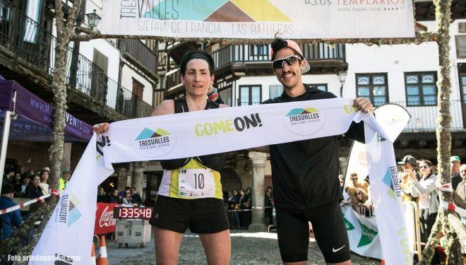 Oihana Kortazar y Pablo Villa en Tres Valles 2019. donde ganaron