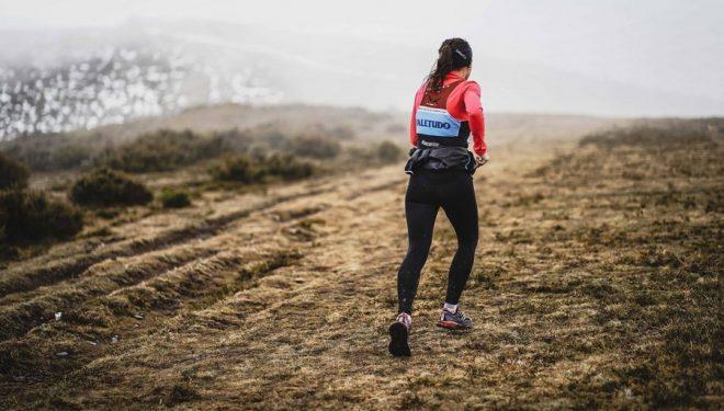 Denisa Dragomir en la carrera Alto Sil 2019