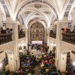 Briefing de la Pierra Menta 2019 en la iglesia