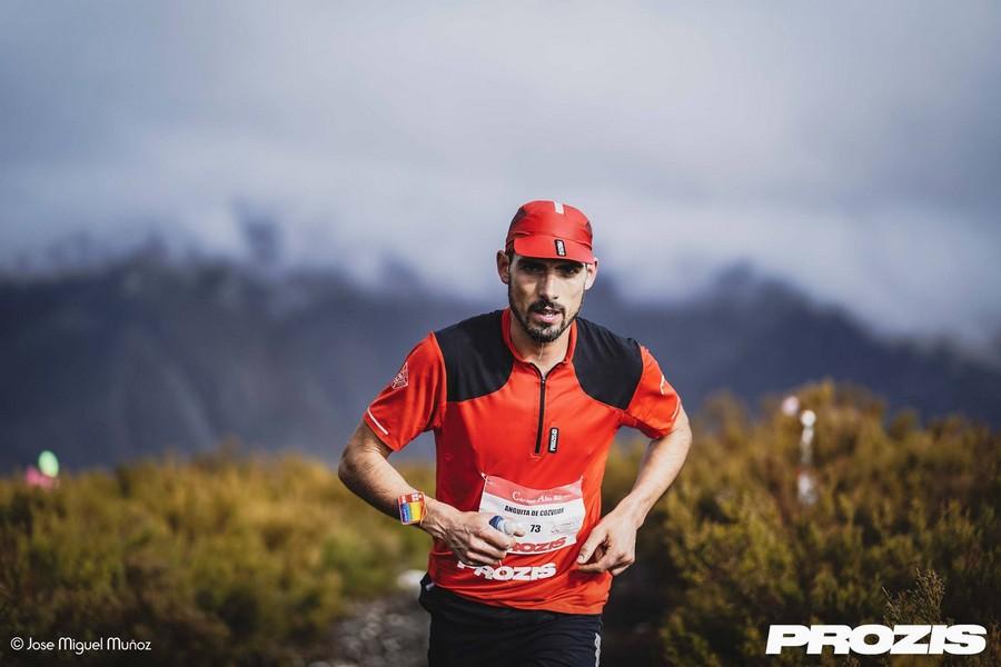 Manuel Anguita en la carrera Alto Sil 2019