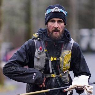 Karel Sabbe en la Barkley Marathons 2019