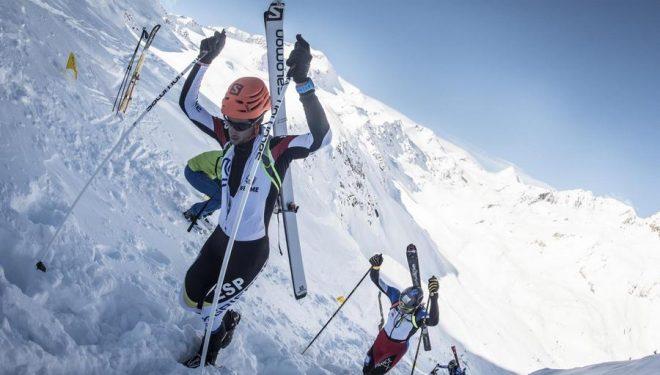 Kilian Jornet en la Adamello Ski Raid 2015