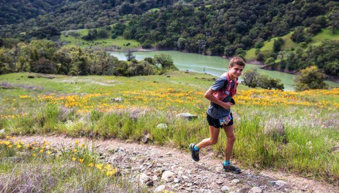 Luke Sanchez en Lake Sonoma 50M 2019