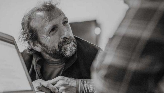 Peri Gámez entrevistado por Pedro Alfonso 'Chito' en Chamizo Trail 2018.