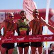 Podio masculino de la MiM 2019 Miguel Caballero, Borja Fernández y Cristóbal Adell