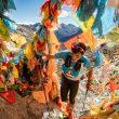 Bhim Gurung en Yading Skyrun 2019