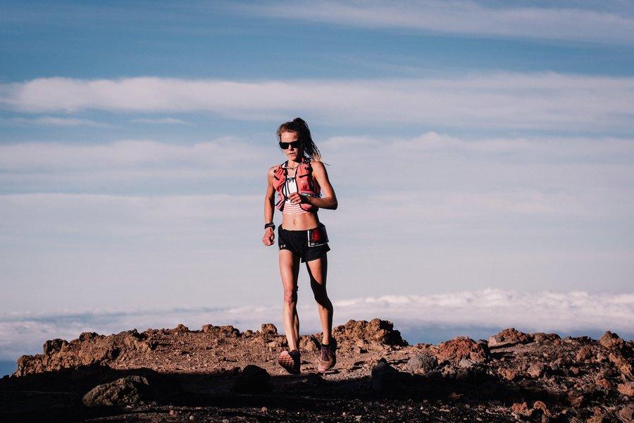 Kelly Wolf en Transvulcania 2018
