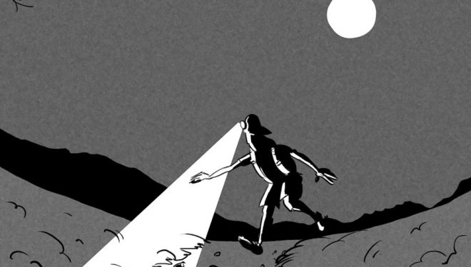 Noche de luna llena: correr por todas las cimas de la sierra próximas a Segovia.