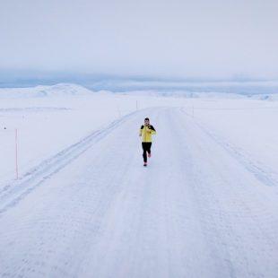 Pau Capell en 'Run for the Arctic' en noviembre de 2019