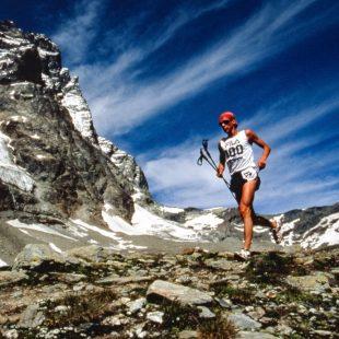 Marco de Gasperi en el Fila Vertical Kilometer 1994 en Cervinia