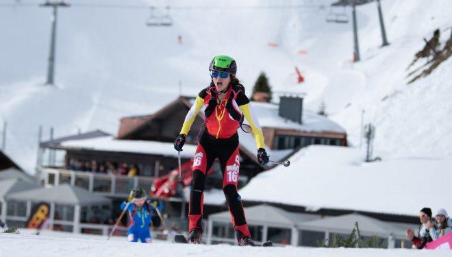 María Costa en la prueba de Sprint de los JJ.OO. de la Juventud de Lausanne 2020