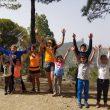 Luca Papi con la Escuela de Trail Transgrancanaria