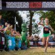 Manuela Soccol en la Tarawera Ultramarathon 2020, que ganó