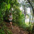 Tom Evans en la Tarawera Ultramarathon 2020, que ganó