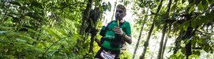 Andrés Lledó en la edición cero de Volcano Ultramarathon