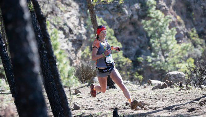 Dominique Van Mechgelen en Artenara Trail 2020