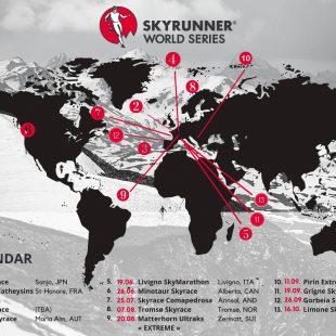 Skyrunner World series calendario de carreras 2021