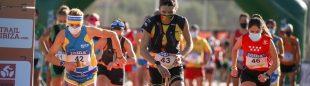 Salida escalonada eel Campeonato de Trail Running por Selecciones Autonómicas 2020 en Ibiza
