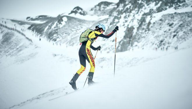 Marta García en el Campeonato de España de Esquí de Montaña 2021