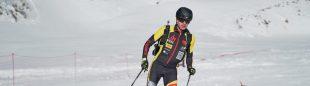 Oriol Cardona en el Campeonato de España de Esquí de Montaña 2021, que ganó