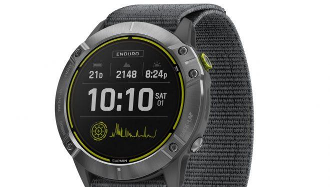 Garmin Enduro™, reloj GPS multideporte con carga solar