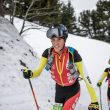 Albert Pérez en la Copa del Mundo de Esquí de Montaña 2020-21 en Flaine (Francia)