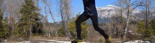Juan Alberto Humanes probando las zapatillas Jackal GTX de La Sportiva