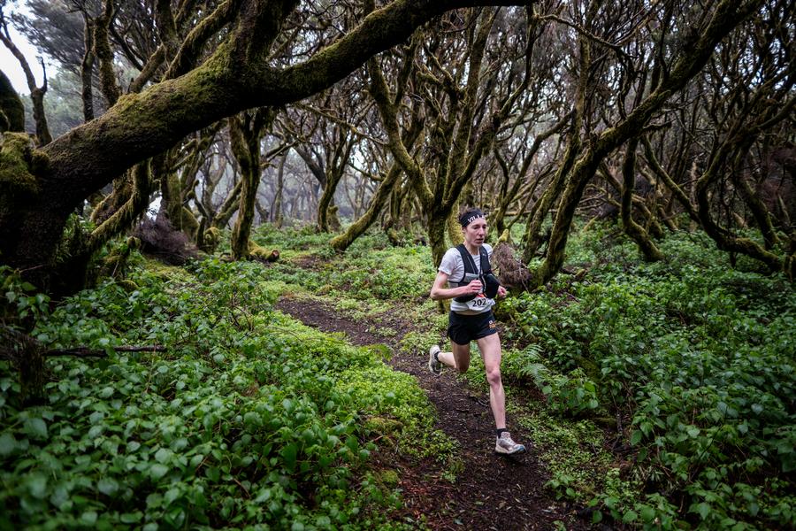 Maude Mathys en el Maratón del Meridiano 2021