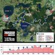 Recorrido y perfil Tarawera Ultramarathon 2021