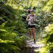 Ruth Croft en Tarawera Ultramarathon 2021, donde ganó