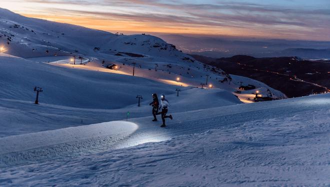 Snow Running Sierra Nevada 2020