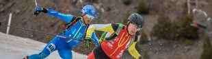Oriol Cardona en el Campeonato del Mundo de Esquí de Montaña de Sprint 2021 en Andorra