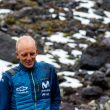 Karl Egloff en su récord a los volcanes Ilinizas