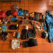El material de Karl Egloff en su récord a los volcanes Ilinizas