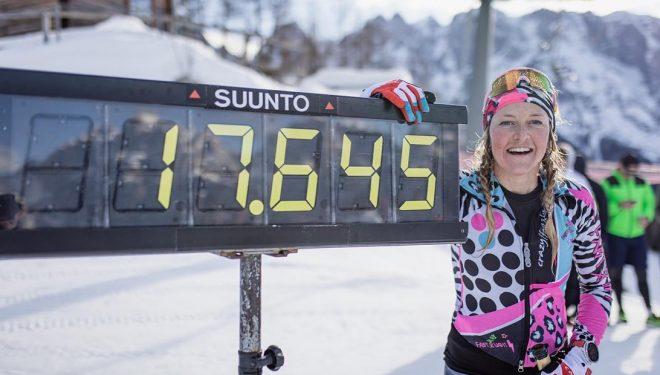 Martina Valmassoi récord femenino de ascenso y descenso 24 horas