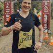 Stephanie Pierrard en la segunda etapa de Volcano Ultra Marathon Costa Rica 2021