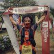 Zaid Ait Malek en la segunda etapa de Volcano Ultra Marathon Costa Rica 2021