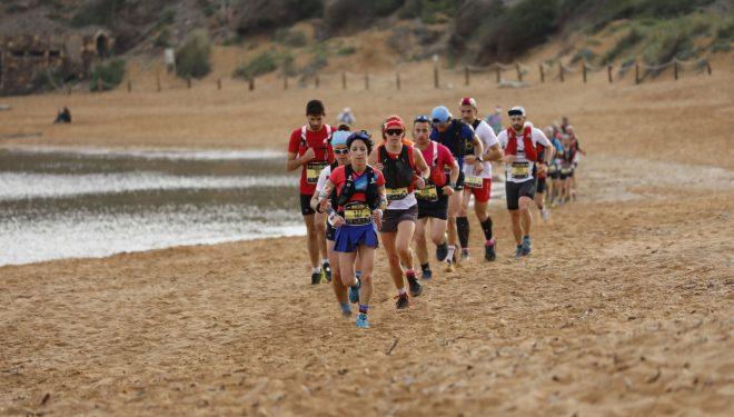 Maria Pallicer en la Trail dels Fars