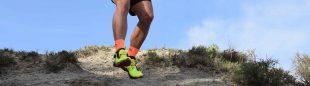 Juan Alberto Humanes probando las zapatillas Cyklon de La Sportiva