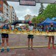 Podio femenino Miranda de Ebro 2021